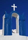 Oia-Kirche Stockfotos