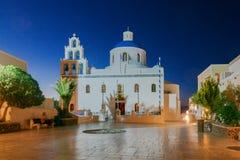 Oia Kirche von Panagia Lizenzfreie Stockbilder