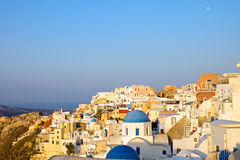 Oia in the morning Royalty Free Stock Photos