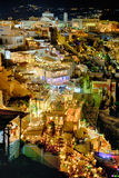 Oia by Night Stock Photography
