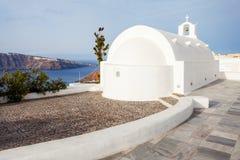 Oia ortodoksyjny kościół, Santorini obraz royalty free