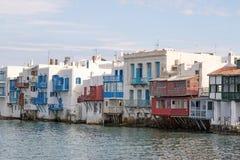 Oia panorama & x28; Santorini, Greece& - x29; Zdjęcia Royalty Free