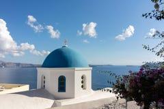 Oia panorama (Santorini - Greece) Royalty Free Stock Photo