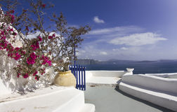 Oia's view Royalty Free Stock Photography