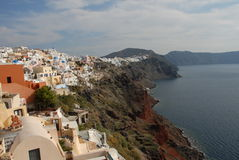 Oia Santorini Stock Photography