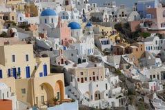 Oia Santorini Stock Image