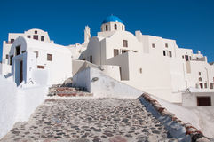 Oia in Santorini Royalty Free Stock Image