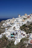 Oia in Santorini Stock Photo