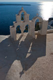 oia santorini στοκ εικόνες