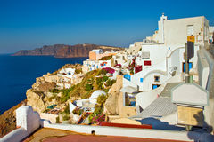 Oia, Santorini Lizenzfreies Stockbild