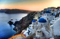 Oia Santorini Stock Images