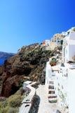 Oia - Santorini Stockbilder