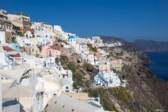 Oia on Santorini Stock Image
