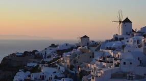 Oia Santorini Lizenzfreie Stockfotografie