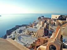 Oia Santorini Imagens de Stock