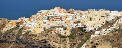 Oia Santorini Lizenzfreies Stockbild