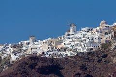 Oia Santorini Fotografia Stock