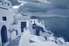 Oia, Santorini. Image libre de droits