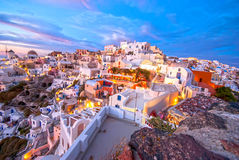 Oia Santorini Fotos de Stock