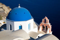 Oia Santorini Fotografie Stock