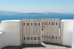 Oia, Santorini fotografia stock