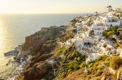 Oia - Santorini Image libre de droits