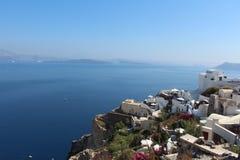 Oia, Santorini Imágenes de archivo libres de regalías