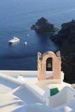 Oia in Santorini Royalty-vrije Stock Afbeeldingen