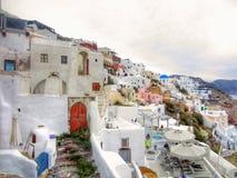 Oia Santorini Royalty-vrije Stock Afbeeldingen