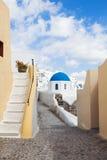 Oia Santorini Alley Stock Photography