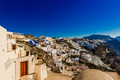 Oia santorini  Greece. Oia santorini Greece beaut  greece  island  oia  wonderful fantasy  nice  heaven  blue Stock Image