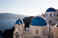 Oia at Santorini Stock Image