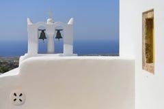 Oia, Santorini - church bells Stock Photos