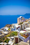 Oia at Santorini Stock Photography