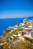 Oia at Santorini Stock Images