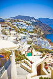 Oia at Santorini Royalty Free Stock Images
