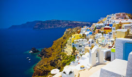 Oia at Santorini Stock Image