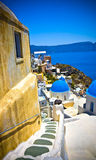 Oia at Santorini Royalty Free Stock Photography