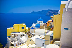 Oia at Santorini Royalty Free Stock Photo
