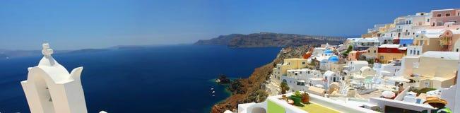 Oia at Santorini Stock Photos