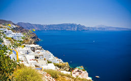 Oia at Santorini Royalty Free Stock Image