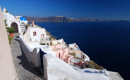 Oia Santorini, Cyclades, Greece Royalty Free Stock Photo