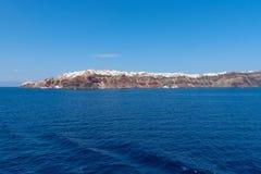 Oia - Santorini Cyclades Island - Aegean sea - Greece. View of Oia - Santorini Cyclades Island - Aegean sea - Greece royalty free stock image