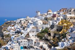 Oia - santorini (cyclades) Royalty Free Stock Photo
