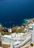 Oia, Santorini at daylight Royalty Free Stock Images