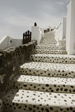 Oia, Santorini an einem sonnigen Tag Lizenzfreies Stockbild