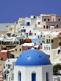 Oia. Santorini, Grèce Photographie stock