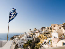 Oia, Santorini, Grèce Photo stock