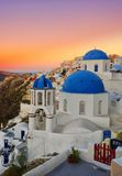 Oia Santorini Grécia Imagem de Stock Royalty Free