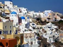 Oia, Santorini Grecia Fotografia Stock Libera da Diritti